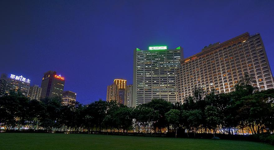 Hongkong park size
