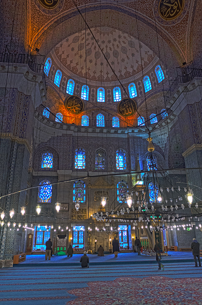Istanbul Moschee size