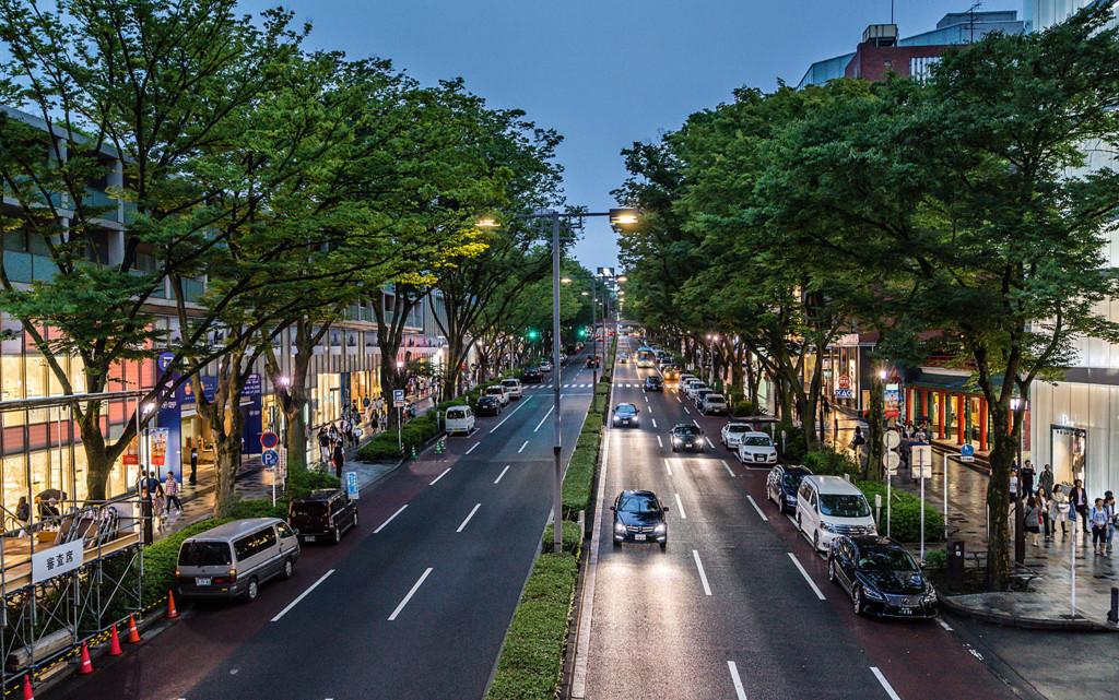 Street in Tokyo size