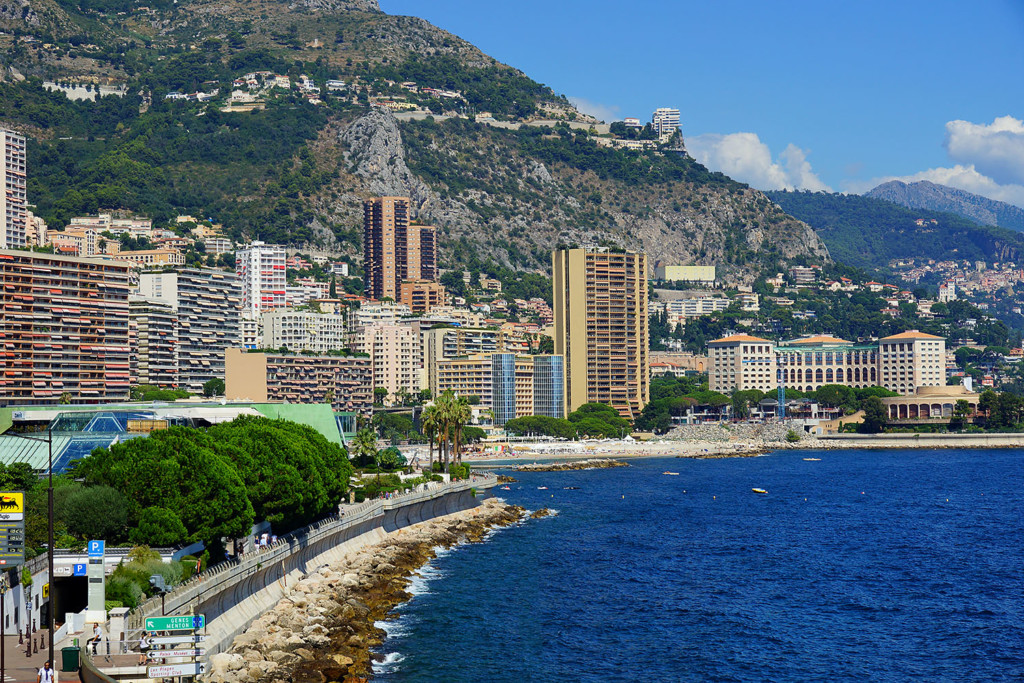 Monaco Sea size
