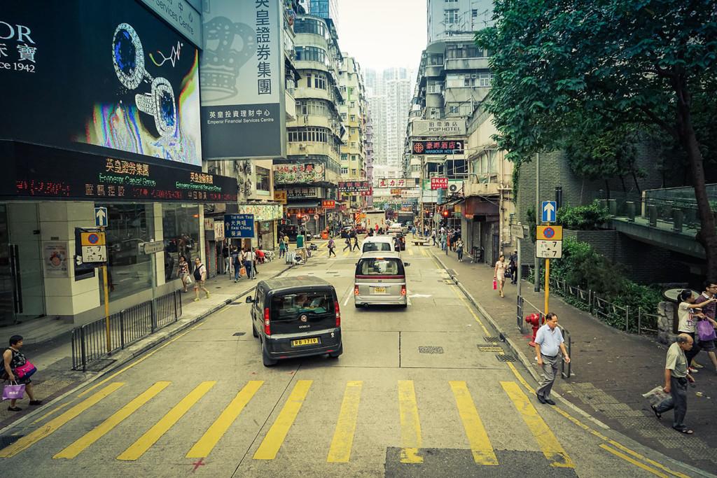 Street Scene HongKong 3 size