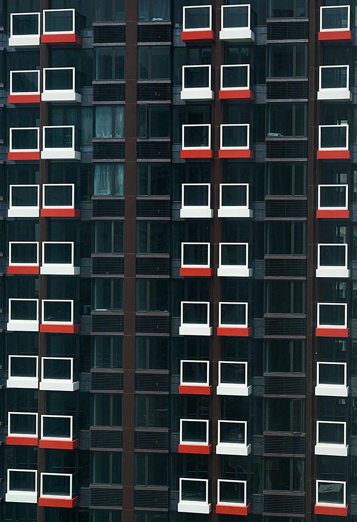 Black Building size