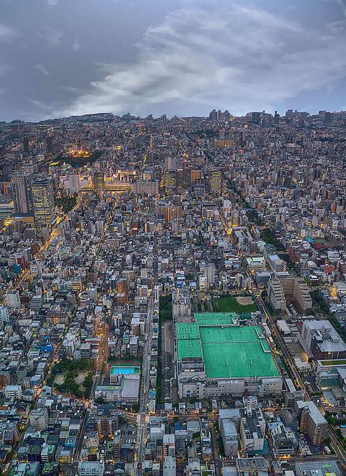 Tokyo from Sky tower sizejpg